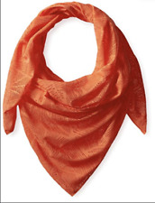 NEW Merrell Women's Helio Scarf Nectarine Orange Leaf Print Light Weight