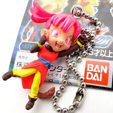Saiyan Avatar (female) DragonBall mini Figure Key Chain Authentic BANDAI Japan
