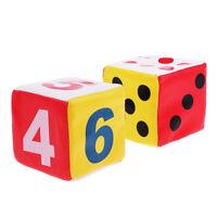 6cm Sponge Dice Spot Foam Dice Child Kids Teaching Numbers & Spots