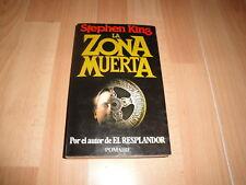 LA ZONA MUERTA LIBRO DE STEPHEN KING PRIMERA EDICION EDITORIAL POMAIRE AÑO 1980