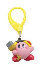 Nintendo 2'' Kirby Headphones Figure Bag Clip Key Chain NEW