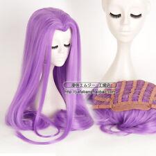 Fate Grand Order FGO Medusa 120cm Anime Cosplay Costume Wig +Track +CAP