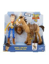 Disney Pixar Toy Story Woody & Bullseye 2-Pack Figures
