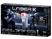 New Laser X Double Blasters with Gaming Tower  2 Player