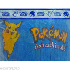 VINTAGE POKEMON CREPE PAPER STREAMER ~ Birthday Party Supplies Decorations
