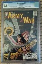 Our Army At War #83 CGC 2.5 DC 1959 1st True Sgt. Rock! Scarce! E7 232 cm