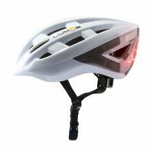 Lumos Kickstart Lite Smart Bike Helmet, Polar White   Front and Rear LED Lights