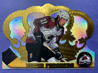 1997-98 Pacific Crown Royale #33 Peter Forsberg Colorado Avalanche DieCut Base