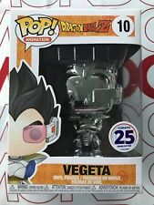 SDCC 2019 Exclusive Funimation & Funko POP! Dragon Ball Z Vegeta Chrome