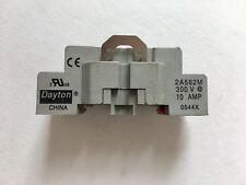 Dayton 2A582M Relay Socket 300V, 10AMP