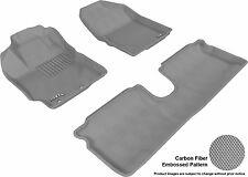 3D Anti-Skid 1 Set Fits Yaris 2012-2014 GTCA22563 Gray Waterproof Auto Parts Per