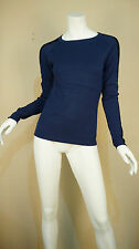 Cardigan womens black/dark blue knitwear pullover jumper size S