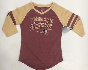 Florida State Seminoles T Shirt Girls size M, Medium 7/8