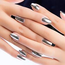 17Color Women's Metallic Nail Polish Magic Mirror Effect Chrome Nail Art Varnish