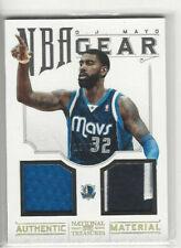 2012-13 Panini National Treasures NBA Gear Combos Prime #d 13/25 OJ Mayo #36