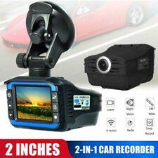 HD para Vehículo Automóvil detector radar velocidad Video Cámara Grabadora DVR