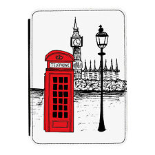 Telefono Rosso chiamata London Scatola British iPad in pelle PU 1/2/3 MINI COVER CUSTODIA FLIP