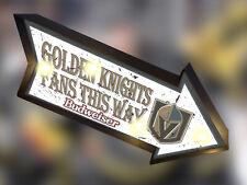 Retro Sign Budweiser Golden Knight Tent Beer Bar Light Box Sign