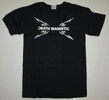 Official METALLICA Merchandise DEATH MAGNETIC Concert Tour Sweden T-Shirt S 46