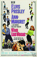 Viva Las Vegas Elvis Presley vintage movie poster print