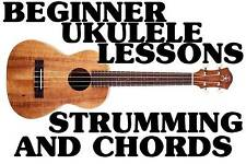 Beginner Ukulele Lessons Strumming & Chords Dvd. Hawaii Is Calling Iz 2 Much Fun