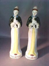Very Old Pair of Occupied Japan Geisha Japanese Lady Figurines VGC