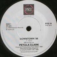 """PETULA CLARK downtown '88 7"""" WS EX/ uk prt PYS 19"""