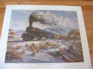 """""""The Western Challenger""""by D.Tutwiller,steam locomotive"""