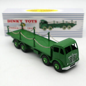 Atlas Dinky Super toys 905 Foden FLAT TRUCK with Chains Mint/boxed Car Models