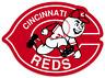 Cincinnati Reds logo Type MLB Baseball Die-Cut MAGNET