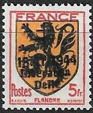 LIBERATION...RR..DELLE..5f**rouge noir orange (602).. Dle Sge....Signé ...
