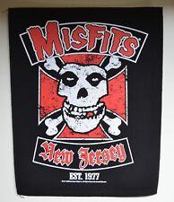 MISFITS - Biker - 30 cm x 36,3 cm - Backpatch - 164580