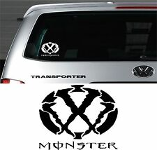 VOLKSWAGEN VW Window Bumper Logo Decal Stickers TRANSPORTER T5 T4 Campervan