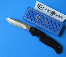 COLT USA Revolver Lockback Knife CT14 NEW Camillus Fine Drop Point Blade Kit Rae