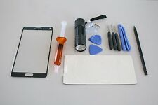 Samsung Galaxy Note 4 SM-N910 Front Glass Screen Replacement Repair Kit BLACK