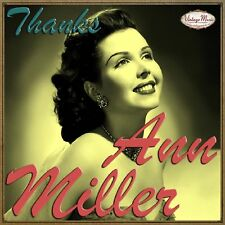 ANN MILLER CD Vintage Vocal Jazz / Too Darn Hot , Lady From The Bayou , Why Oh