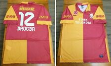 Nike Galatasaray AS Didier Drogba Red Yellow Home Soccer Jersey Mens Size XL