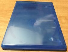 Blue 12mm Single Disc Blu-Ray Case