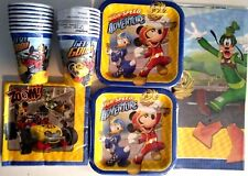 MICKEY MOUSE & The Roadster Racers Disney Birthday Party Supply Kit Pack For 16