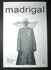 "Original Cuban Movie Poster""MADRIGAL""REligious NUN.Recent Cuba art Film.Pelicula"