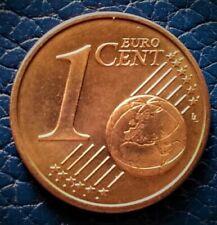 Pièces euro pour 1 Cent année 1999