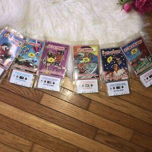 Books CHILDRENS BOOKS On Tape Audio Cassette Read Out Loud LISTENING CENTER 6