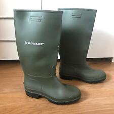 Dunlop Wellington Rubber Boots Size 5 Green Original Waterproof Wellies Festival