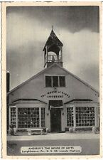 Angerer's House of Gifts on Lincoln Highway in Laughlintown PA Postcard