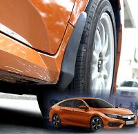 4Pcs Mud Flaps For Honda Civic 2016-2019 2018 Splash Guards Mudguards Front Rear