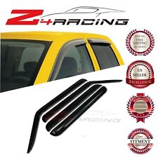 For 2006-2010 Jeep Commander Vent Shade Guard Window Visors Deflector Smoke 4PC