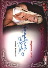 2009 TriStar TNA Knockouts Signature Curves #KA1 Angelina Love AUTO