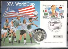Niue Numisbrief Silber (6419 - Fußball -WM 1994) mit der Nr.841