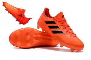adidas Ace 17.1 FG Leder Herren Fußballschuhe Nocken S77043 Solar Orange/Core Bl