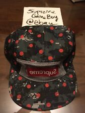 Supreme Comme des Garcons Hat SS13 Dot Digital Camo Camp Cap Polka Dots 2013 CDG
